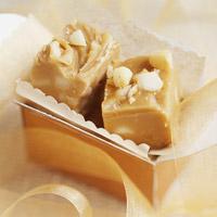 Honung och Exotic Snacks macadamiafudge