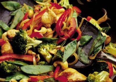 Kyckling, broccoli & cashewgryta