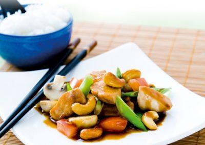 Kyckling med cashewnötter