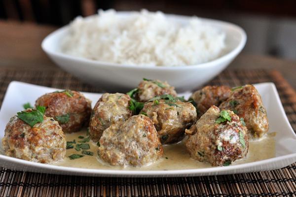 thailändska köttbullar recept